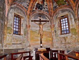 Affreschi Sodoma Convento di San Francesco